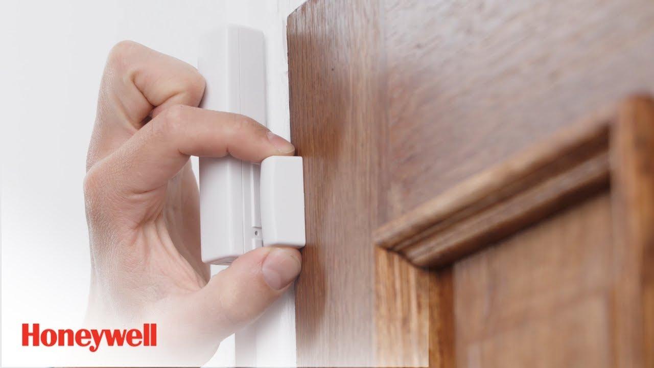 Wireless Door And Window Sensor Installation Evohome Security