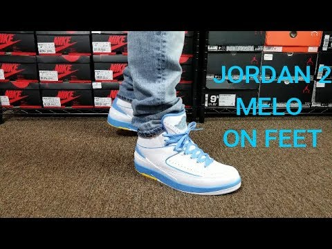 the latest a7f6f 2e702 AIR JORDAN 2 MELO REVIEW & ON FEET