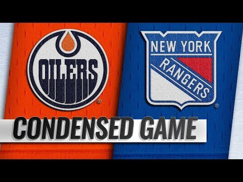 10/13/18 Condensed Game: Oilers @ Rangers