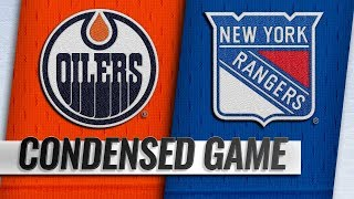 10/13/18 Condensed Game: Oilers @ Rangers
