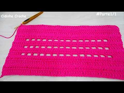 Como Fazer Um Tapete Facil Em Croche -Para Iniciantes