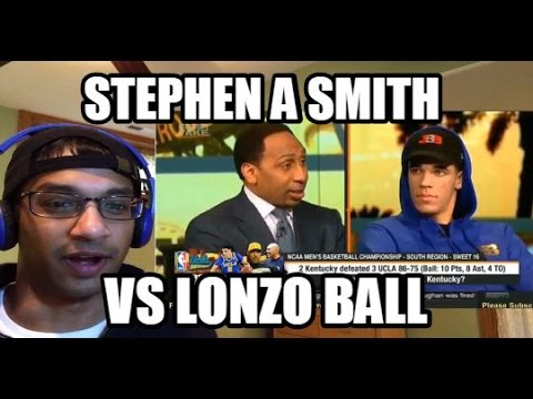 STEPHEN A SMITH VS LONZO BALL. LAVAR BALL BACK FOR ROUND 2! First Take (REACTION)