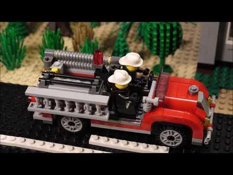 видео: городской пожар (лего анимация)
