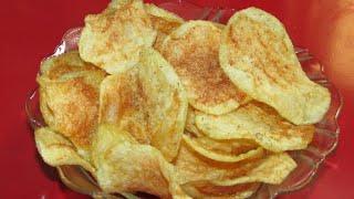 Instant potato chips/Crispy potato chips recipe/Crispy instant potato chips recipe in hindi