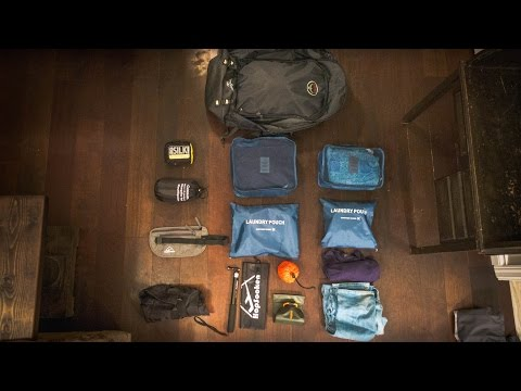 TRAVEL VLOGGING Southeast Asia PACKING LIST
