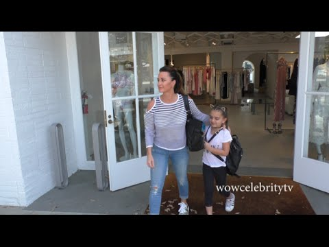 Kyle Richards spotted shopping on Melrose Place in Hollywood