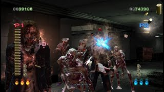 The House of the Dead 4 PS3 2 player 60fps