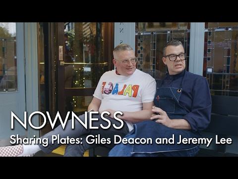 Giles Deacon tries Jeremy Lee's world-famous eel sandwich