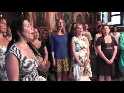 London Bulgarian Choir tour of Bulgaria 2015