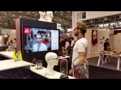 Essayage virtuel de lunettes. JF Rey et Digital iTech Switzrland