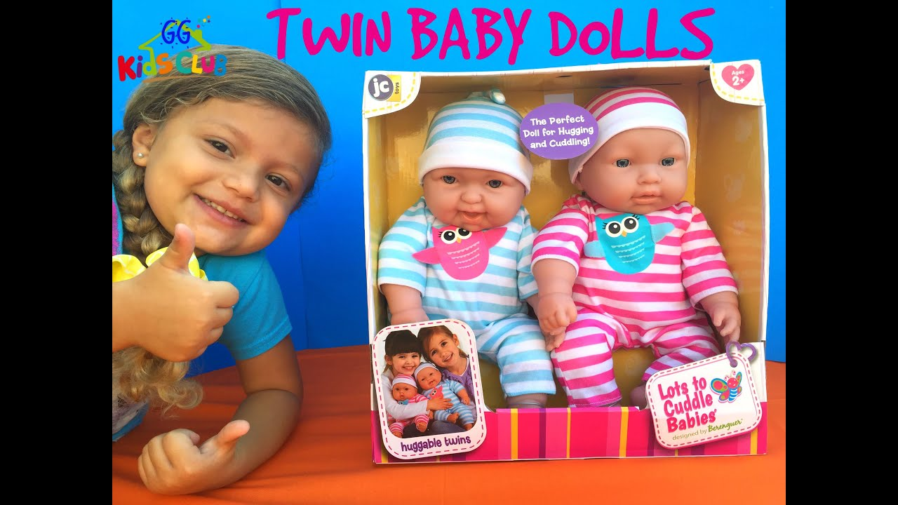 Twin Baby Dolls Unboxing Cute Lots To Cuddle Babies