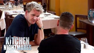 Gordon Ramsay Has A Heart To Heart With Owner | Kitchen Nightmares