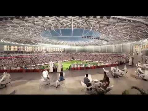 Qatar unveil their brand new stadium for 2022 world cup