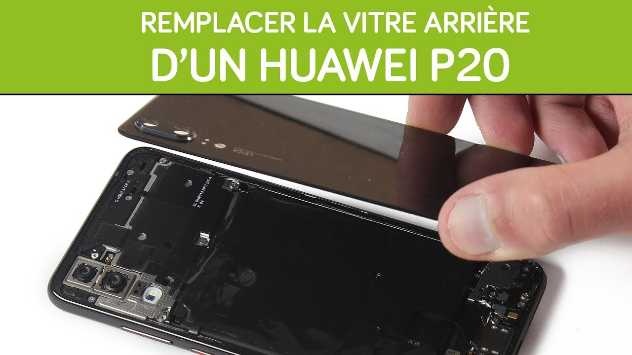 comment ouvrir coque huawei