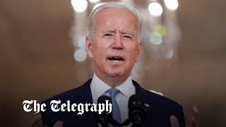 video: Joe Biden tells US: 'I was not extending a forever exit'
