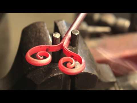 Ковка.Как сделать кованый ключ. Blacksmith.How To Make A Forged Key