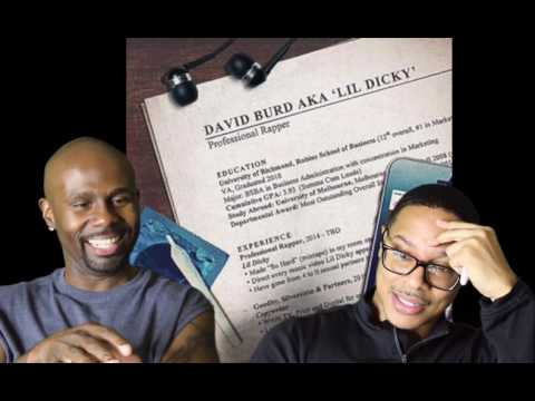Lil Dicky- Professional Rapper Feat. Snoop Dogg (REACTION!!!) (Audio)