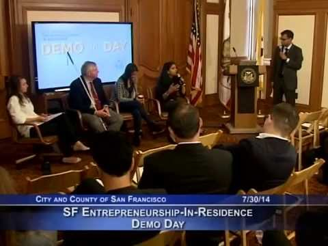 San Francisco Entrepreneurship-In-Residence Demo Day