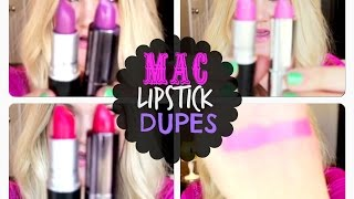 ★ 34 MAC LIPSTICK DUPES: DRUGSTORE DUPES★