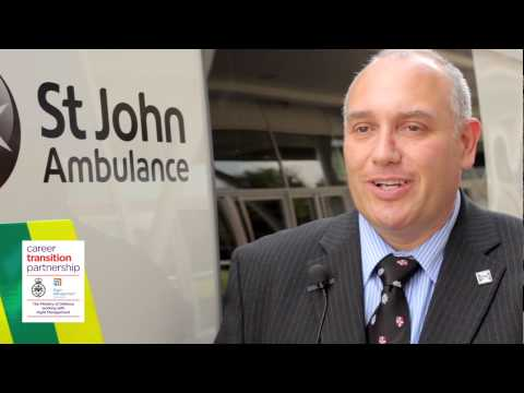 Why St John Ambulance are seeking ex-military personnel