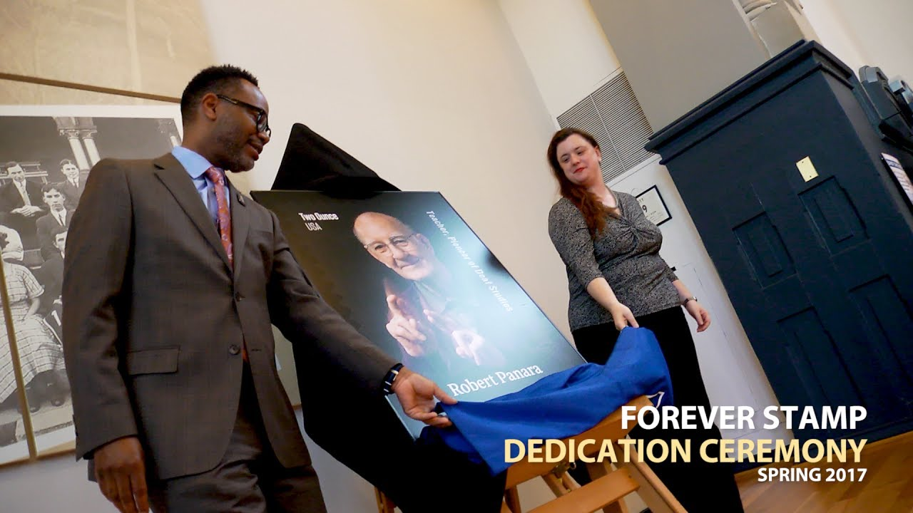 Robert Panara Forever Stamp Dedication Ceremony