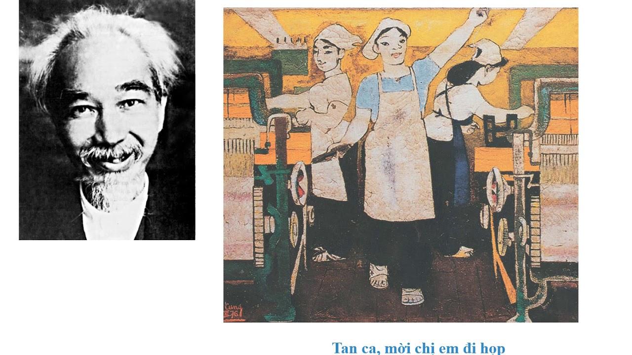 Mĩ thuật 7 – Bài 21.  Một số tác giả và tác phẩm tiêu biểu của mĩ thuật Việt Nam….1954