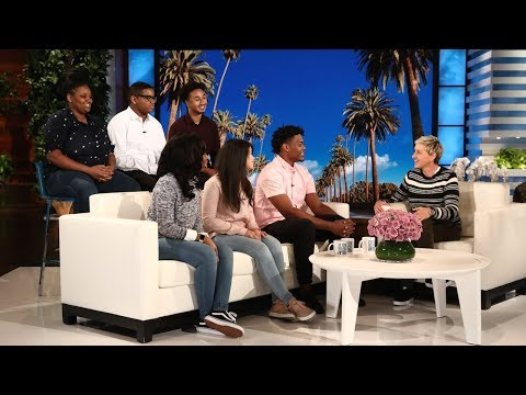 Ellen Welcomes Back the Graduates from Summit Academy