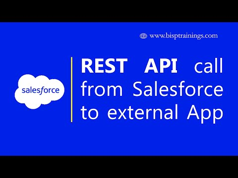 REST API call from Salesforce to external API | Salesforce REST API