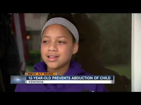 Kenosha girl saves 4-year-old neighbor from abduction attempt