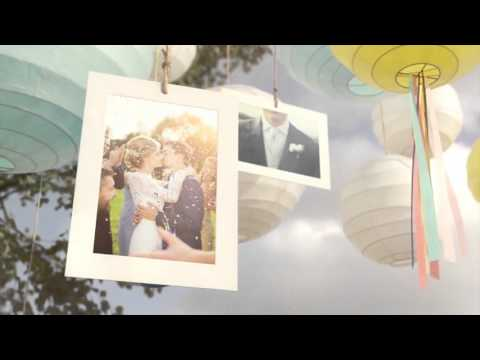 sunny lanterns - wedding 3d slideshow | download after effects, Presentation templates