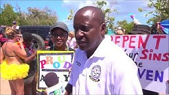 Scenes from St. Croix First Ever LBGTQ Parade