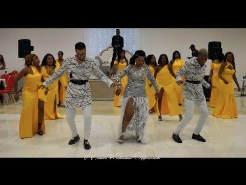 Naija and Congolese Choreography AURELS FLASHMOB*