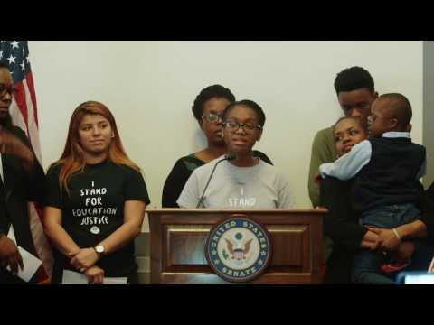 Detroit Student's Emotional Response to DeVos Nomination