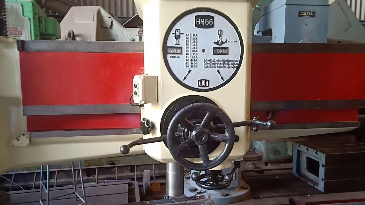 WMW BR-56 Radail Drilling Machine