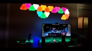 The COOLEST RGB LED's on Earth! Nanoleaf Aurora Install and Chat