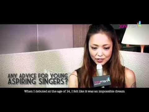 Namie Amuro - Interview @ Singapore