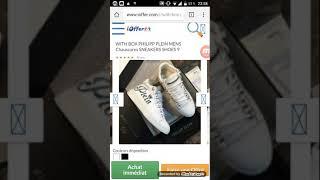 a7929c9cf63c Ioffer Philipp Plein White Box sneakers #112 ...
