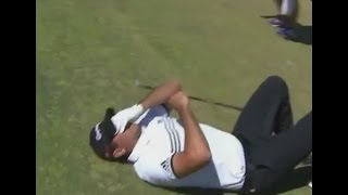 Jason Day Collapses on Course at US Open