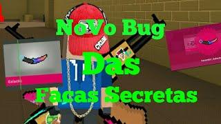 Bug Das Facas Secretas Infinitas V5.5.1  - Block Strike