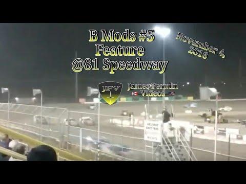 B Mod Feature #1, 81 Speedway