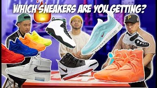 FIRE Upcoming Sneaker Releases!! What's Worth Buying?!