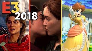 E3 2018 Press Conferences Round Up! - Ubisoft + Playstation + Nintendo