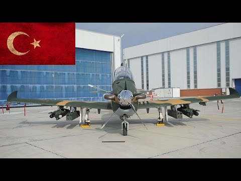 Turkey's Armed Trainer Ready for Assault Missions
