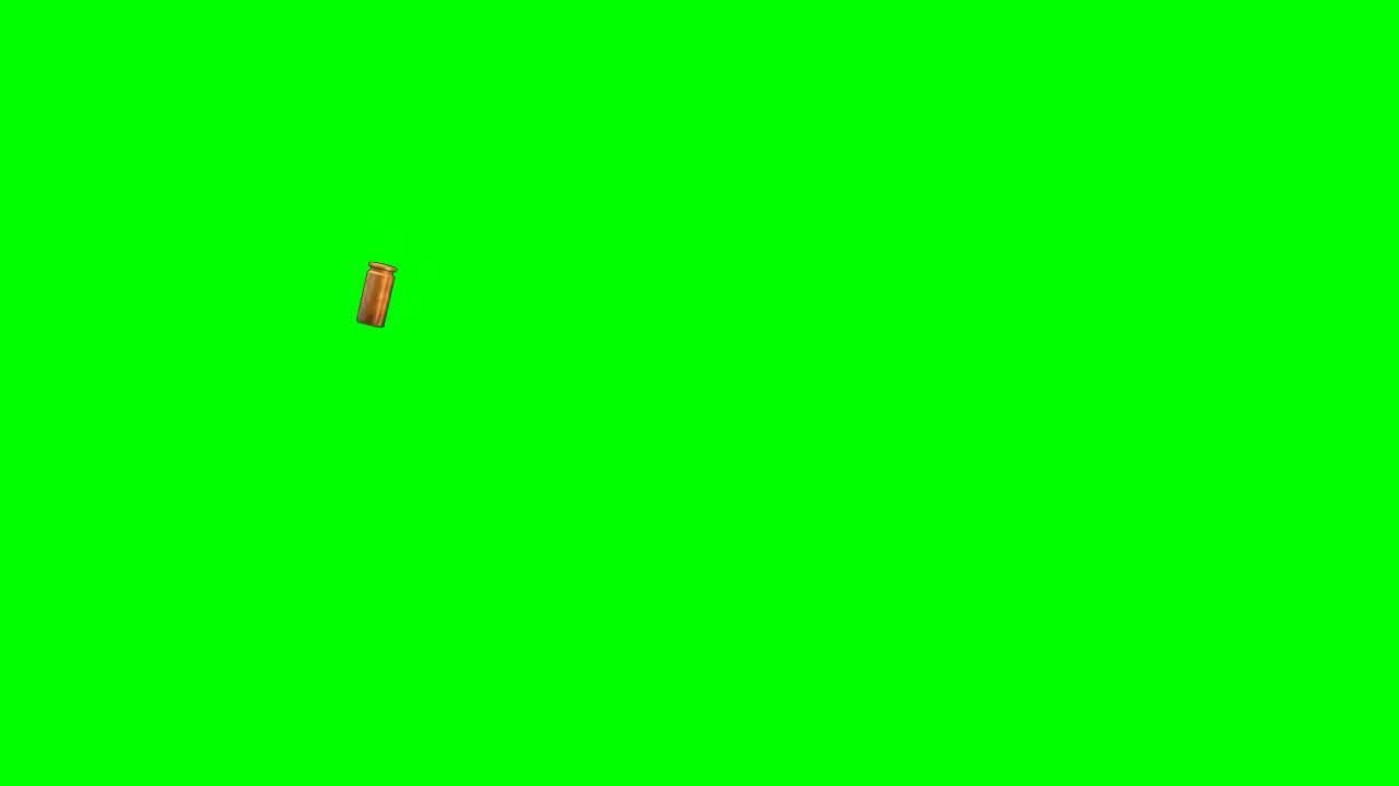 bullet falling hd greenscreen youtube