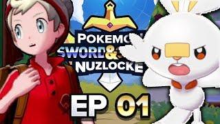 FIRST EVER BLIND NUZLOCKE! - Pokemon Sword & Shield Nuzlocke Part 1