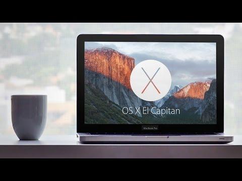 Первый взгляд на OS X El Capitan