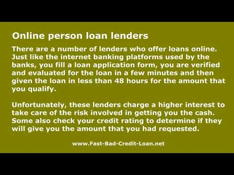 Where Can One Apply Online For A $10,000 Personal Loan With Bad Credit