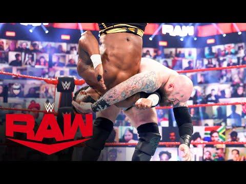 Viking Raiders vs. Shelton Benjamin & Cedric Alexander: Raw, April 12, 2021