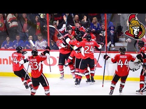 Ottawa Senators Playoff Overtime Goals (NEW)