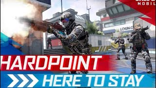 Call Of Duty Mobile Hard Point Mode,Zolu Nokta Modu